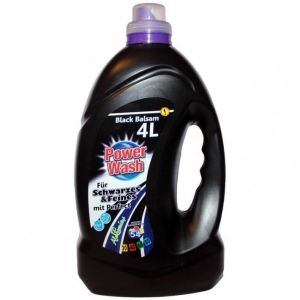 Skalbimo želė  Power Wash Black Balsam 4l